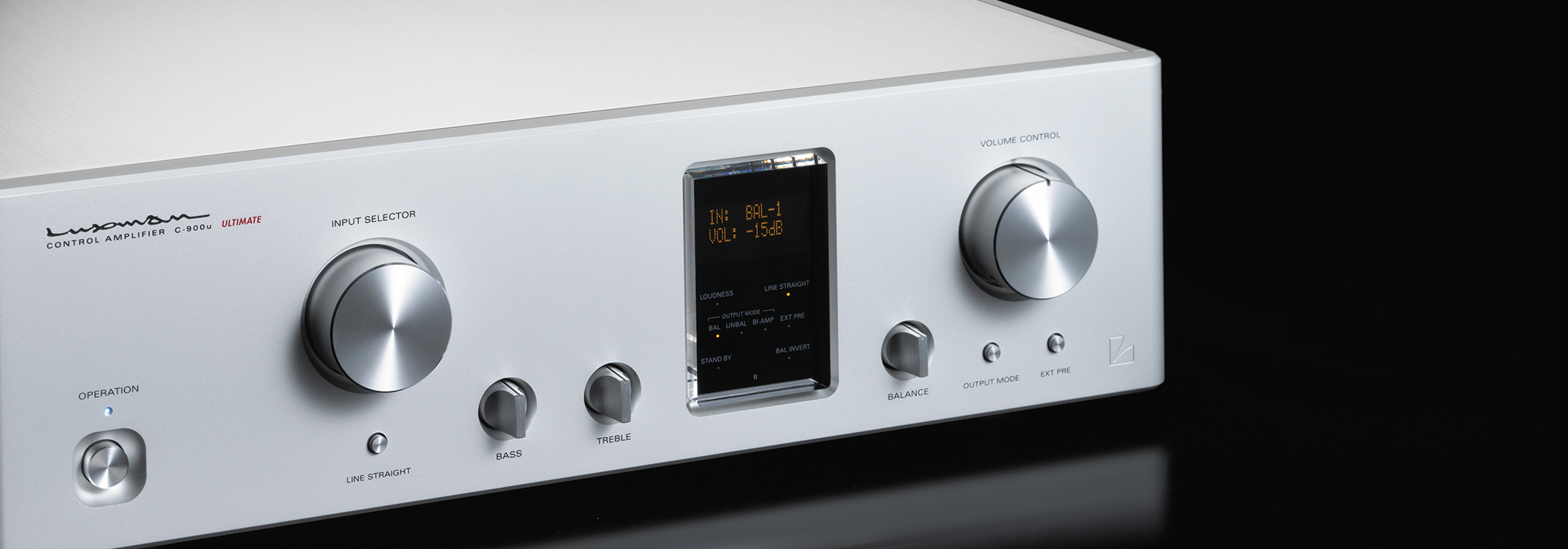 C 900u Control Amplifiers Products Luxman Seeking Higher Inserting A Tone Between Preamp And Power Amp Sound Quality