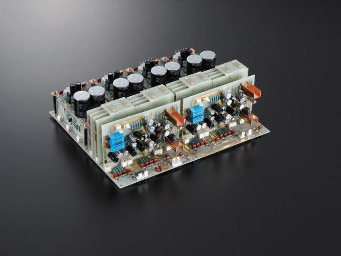 New LECUA 1000 attenuator, a fully balanced configuration and a discretely configured ODNF circuit, directly coupled to the amplifier
