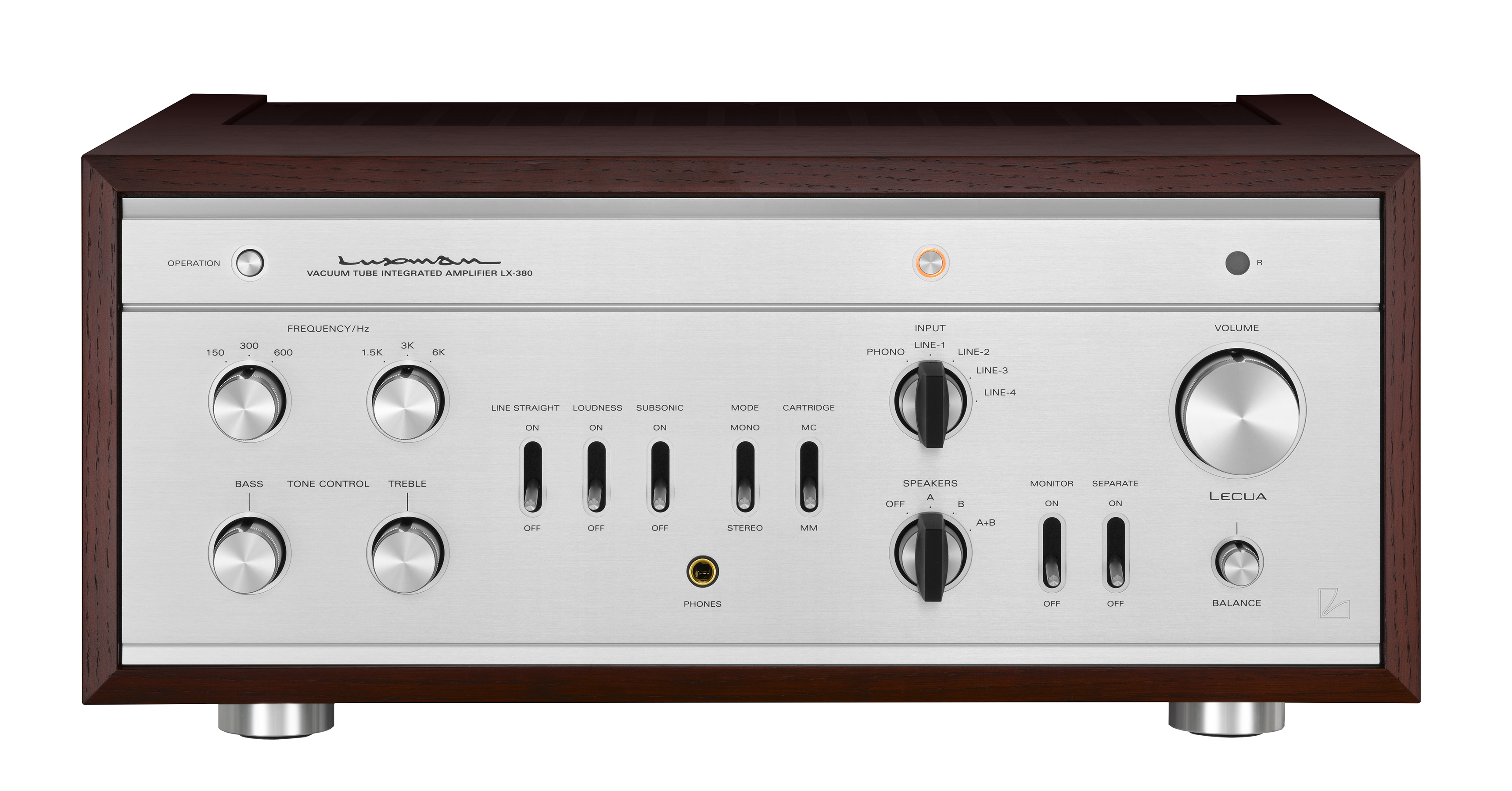 Lx 380 Vacuum Tube Amplifiers Products Luxman Seeking Higher 18 W Stereo Amplifier Circuit Gallery