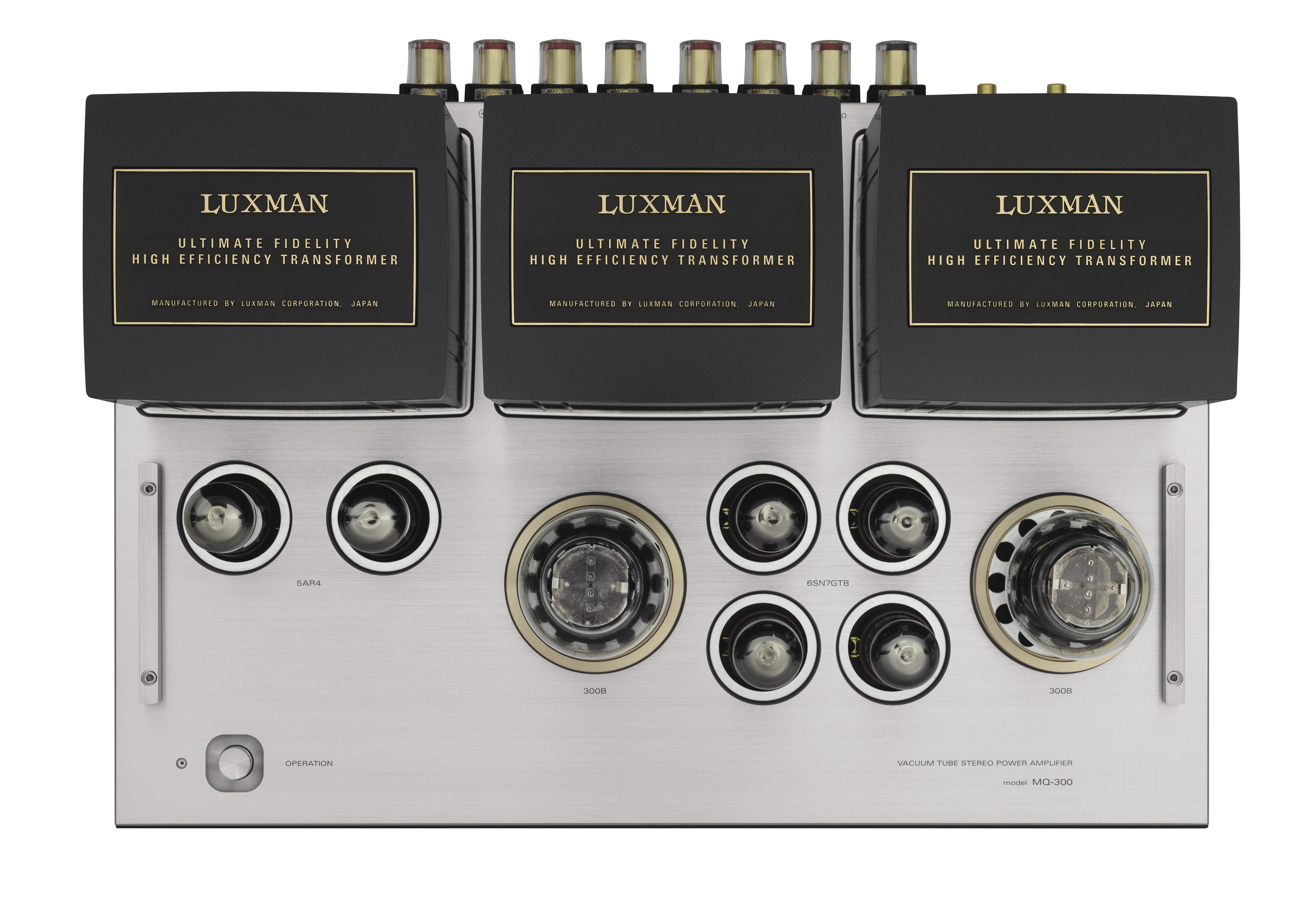 MQ-300 | VACUUM TUBE AMPLIFIERS | PRODUCTS | LUXMAN
