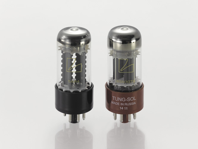 Output tube socket with floating structure